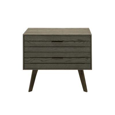 Mahore 2 Drawer Nightstand