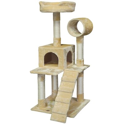 50 Cat Condo Color: Beige