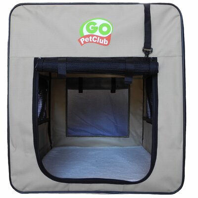 Soft Pet Crate II Size: X-Small (24 H x 18.5 W x 25.75 L)