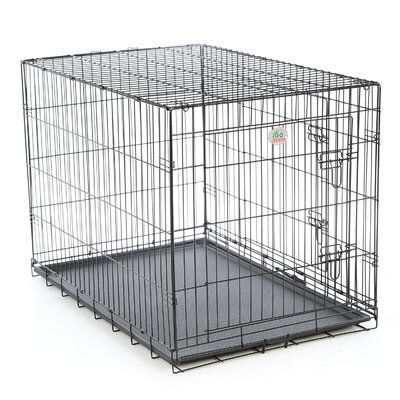 Folding Pet Crate Size: Small (23 H x 21 W x 30 L)