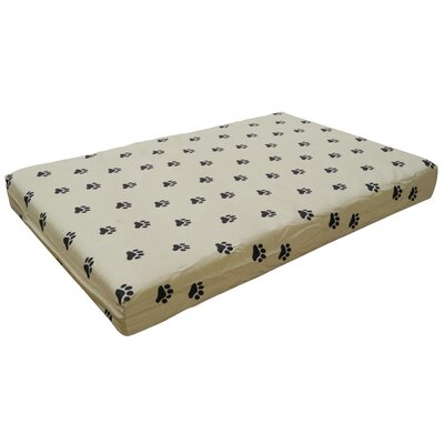 Memory Foam Orthopedic Pet Bed I Pillow/Classic Size: Small - 34 W x 22 D