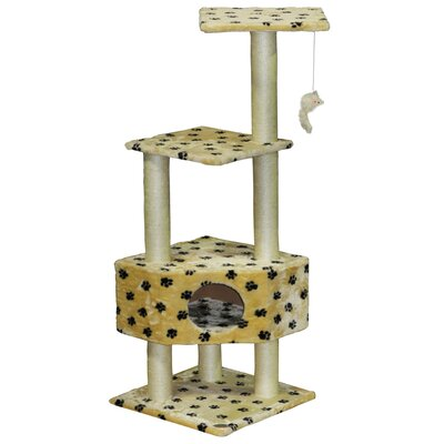 51 Paw Print Cat Tree