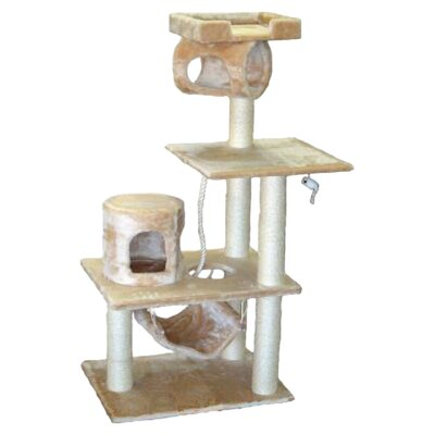 62 Cat Tree in Beige