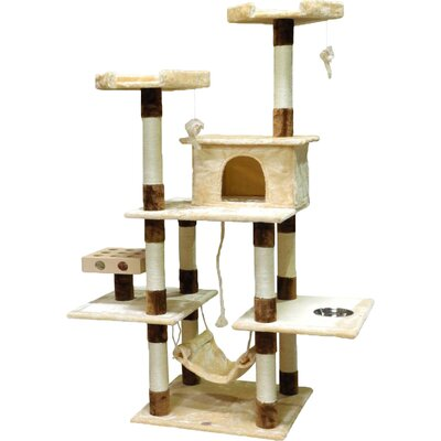70 IQ Box Cat Tree