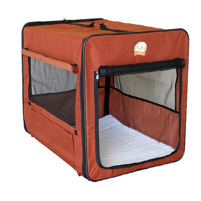Soft Sided Indoor/Outdoor Pet Crate Size: Small (16.5 H x 16.5 W x 18 L)