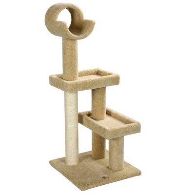 Premium 47 Carpeted Cat Tree