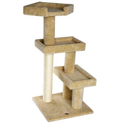 Premium 41 Carpeted Cat Tree