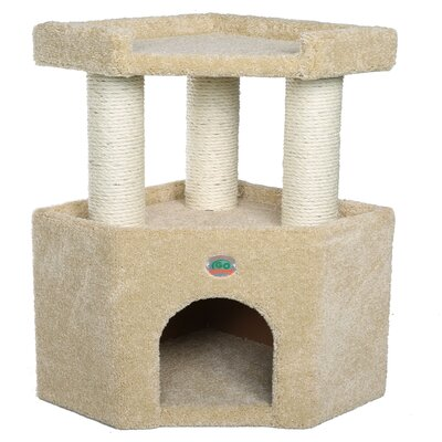 Premium 27 Carpeted Cat Condo