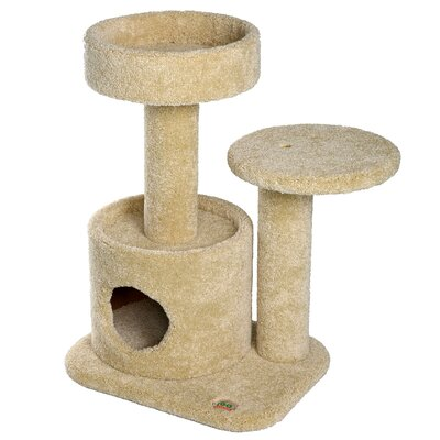 Premium 29 Carpeted Cat Condo