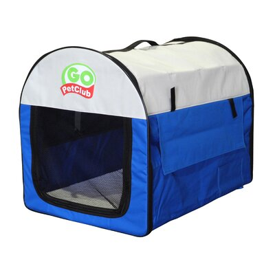 Pet Crate Size: 16.5 H x 14.5 W x 17.5 L