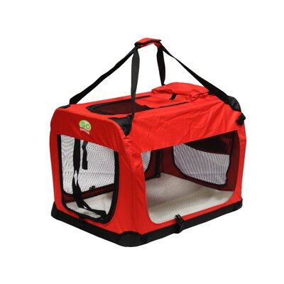 Pet Crate Size: 20.5 H x 20.5 W x 28 L