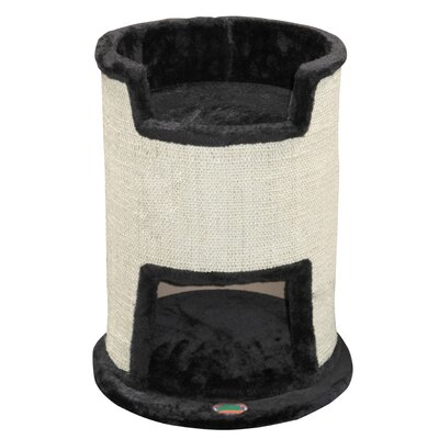 21 Cat Condo Color: Black