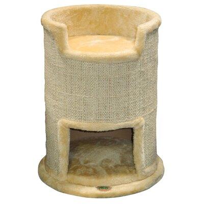 21 Cat Condo Color: Beige