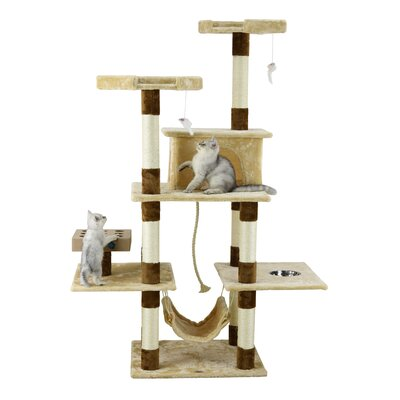70 IQ Box Cat Tree