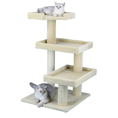 Premium 41 Carpeted Cat Tree