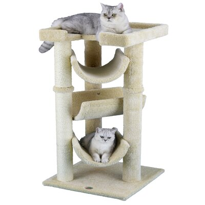 Premium 40 Carpeted Cat Tree