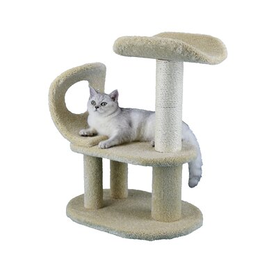Premium 28 Carpeted Cat Tree