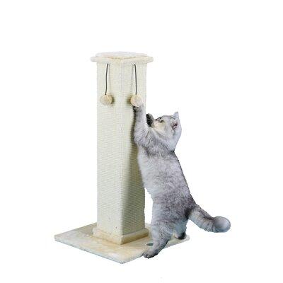 35 Cat Tree Color: Beige