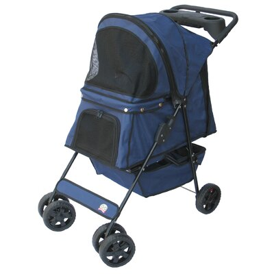 Standard Pet Stroller Color: Dark Blue