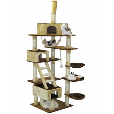108 Condo House Cat Tree
