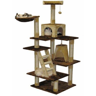 72 Condo House Cat Tree