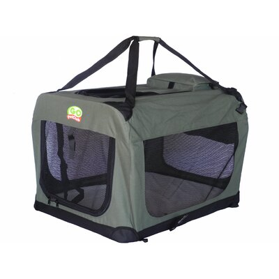 Soft Pet Crate Size: Small (27 H x 27 W x 40 L)
