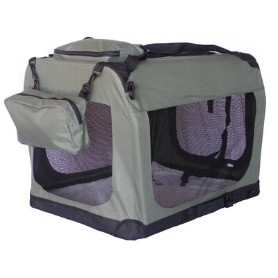 Soft Pet Crate Size: XX-Small (20.5 H x 20.5 W x 28 L)