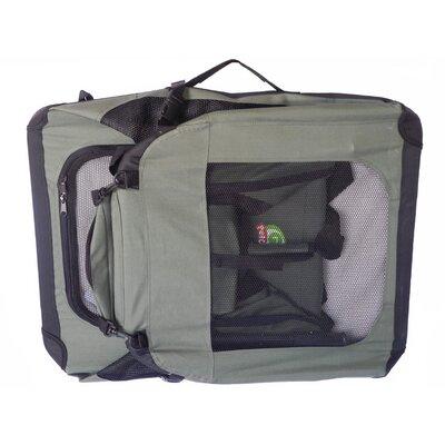 Soft Pet Crate Size: X-Small (23.25 H x 23.25 W x 32 L)