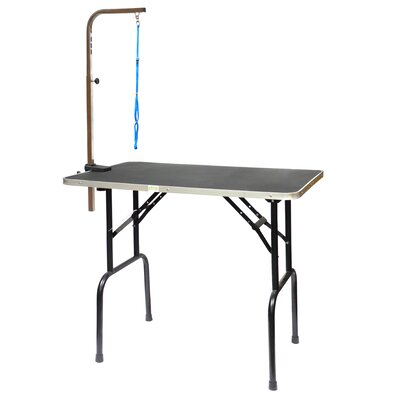Dog Grooming Table with Arm Size: 42