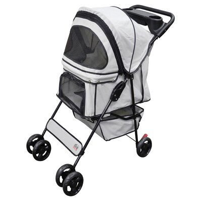 Standard Pet Stroller Color: Beige