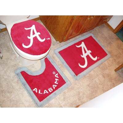 alabama championship bathroom decor sports decor. Black Bedroom Furniture Sets. Home Design Ideas