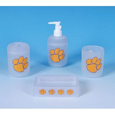 NCAA 4 Piece Bath Set NCAA Team: Clemson