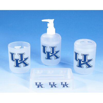 NCAA 4 Piece Bath Set NCAA Team: Kentucky