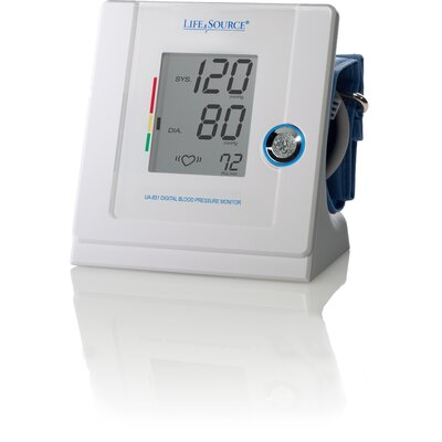 LifeSource Multi Function Automatic Blood Pressure Monitor with Cuff - Size: Large at Sears.com