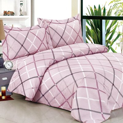 French Triangle Soft Luxurious 6 Piece Duvet Set Size: Twin / 39