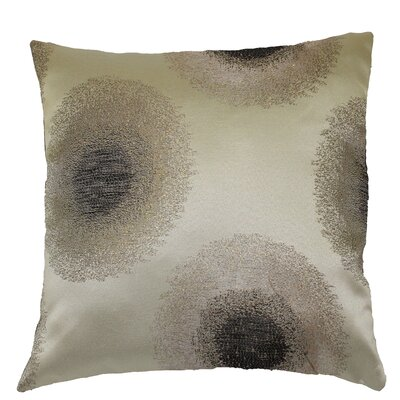 Emblem Decorative Cushion Cover Color: Silver