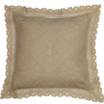 Stars Decorative Cushion Cover Color: Ivory