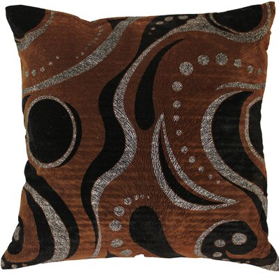 Indiana Decorative Cushion Cover Color: Brown/Silver