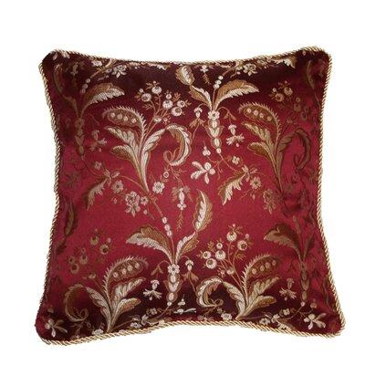 Calabria Decorative Pillow Cover Color: Burgundy