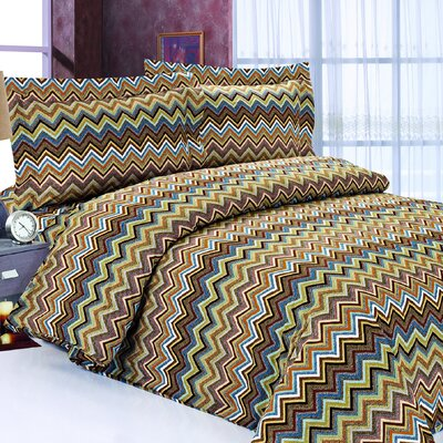 French Multi Weaves Luxurious 6 Piece Duvet Cover Set Size: 48