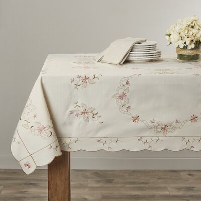 Rayna Embroidered Tablecloth