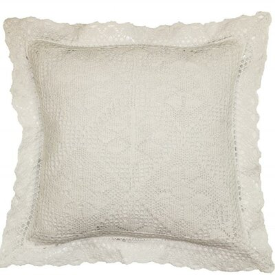 Stars Throw Pillow Color: White