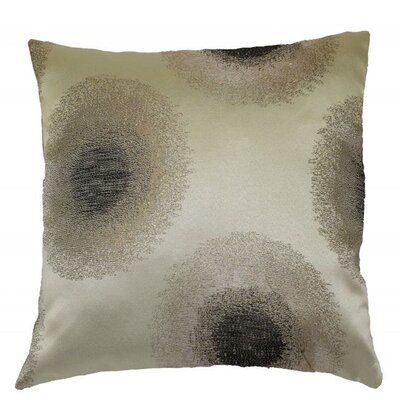 Emblem Throw Pillow Color: Silver