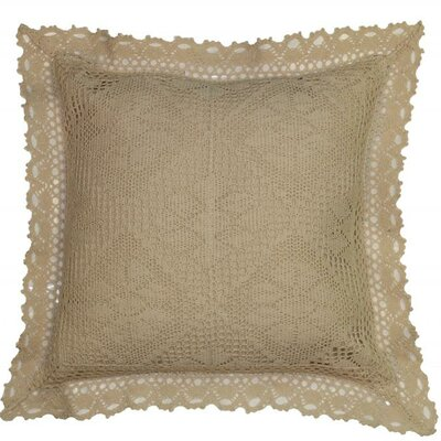 Kershaw Throw Pillow Color: Ivory