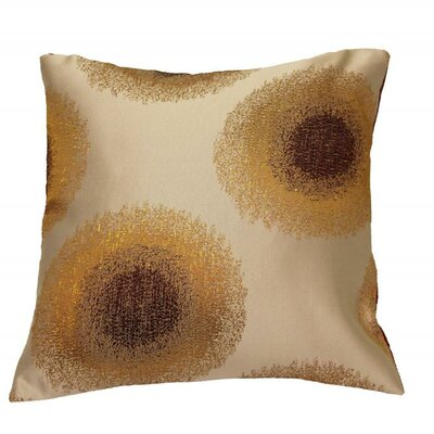 Emblem Throw Pillow Color: Burgundy