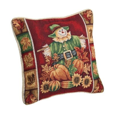 Fall Harvest Scarecrow Pillow Cover
