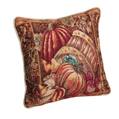 Fall Harvest Bushel Basket Pillow Cover