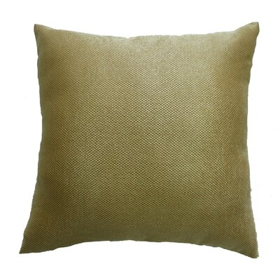 Luxurious Abstract Decorative Chenille Pillow Cover Color: Gold