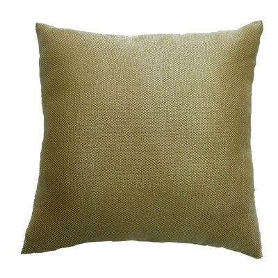Luxurious Abstract Decorative Chenille Throw Pillow Color: Gold