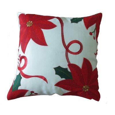 Bloomy Decorative Christmas Throw Pillow